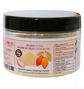 Cocoa butter powder 50g