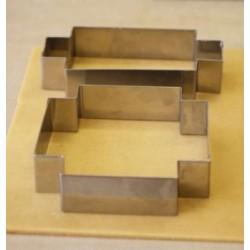 Moule silicone 4 sujets de noel 3.5x2-3.5cm