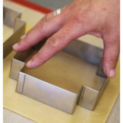 Moule silicone ourson trompette 6x4cm