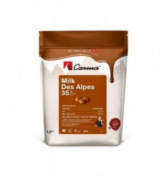 Carma Chocolate with Swiss Milk from the Alps 33%
