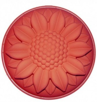 Silicone mold sunflower h70x260mm