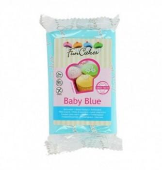Pâte à Sucre FunCakes Bleu Bébé