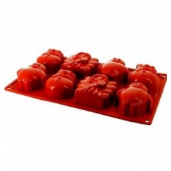 CHABLONS SILICONE NOEUD DE BUCHE 6 pc.85x75 rectangle