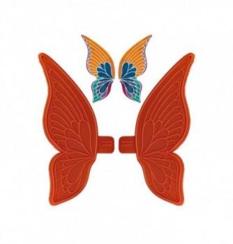 Moule Empreinte Silicone Aile Large de Papillon Grand Modèle