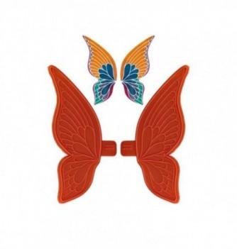 Moule Empreinte Silicone Aile Large de Papillon Moyen Modèle