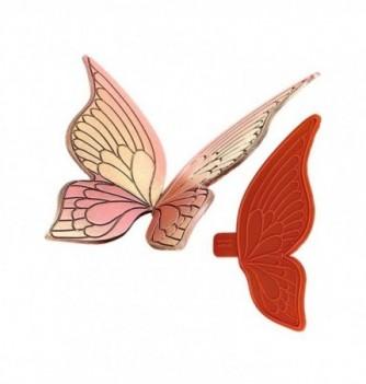 Moule Empreinte Silicone Aile Large de Papillon Petit Modèle