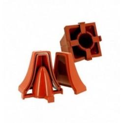 1 PLAQUE THERMOFORME cuillere 10cs ht.8cm