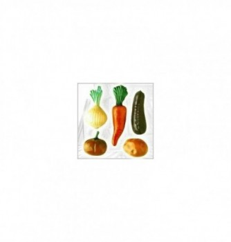 Silicone Mold - 5 vegetables