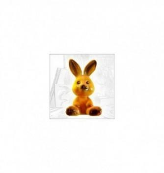Silicone mold mini rabbit 45x30mm