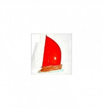 Silicone mold relief sailboat 140x90x10mm