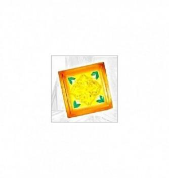 Moule en Silicone Toile Carreau de Fleurs