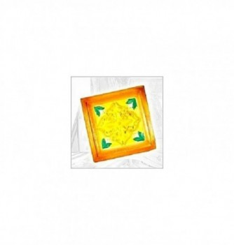 Silicone mold decor panel 165x170mm