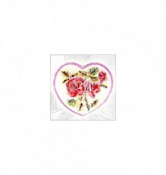 Moule Silicone Roses en Coeur 170x155mm