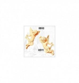 Moule Silicone Ange Décor Gauche 145x70mm