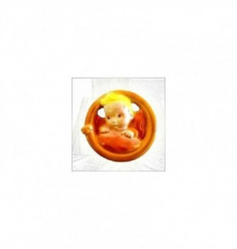 Silicone mold 2 moon baby 75x75x22mm