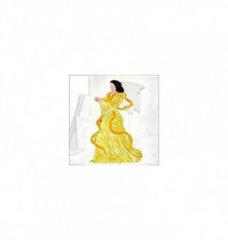 Silicone mold flat angel 245x165mm