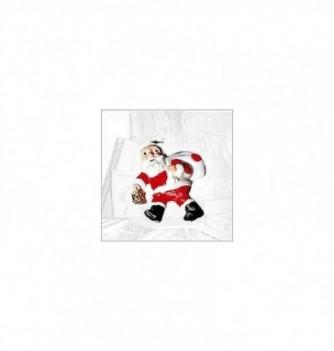 Moule Silicone 4 Pères Noël 80x65mm