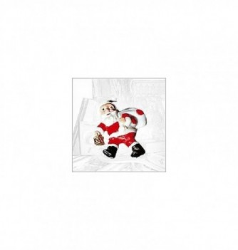 Silicone mold 4 Santa Klaus (flat) 80x65mm