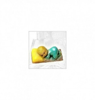 Silicone mold baby cushion 85x45mm