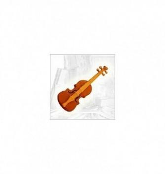 Silicone mold 3 violins 150x45mm