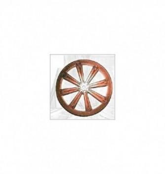 Silicone mold 2 small wheels Diam130mm