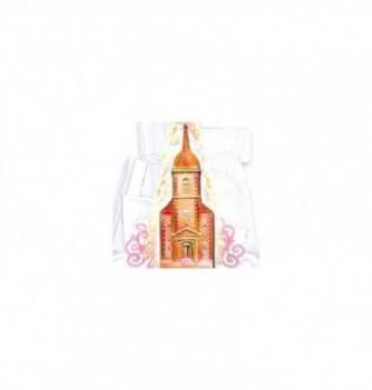 Silicone mold mold church façade 505mm -