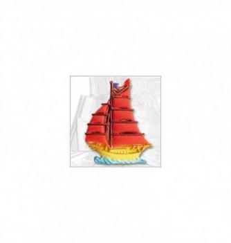 Silicone mold sailboat 107mm