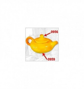 Silicone mold lid teapot 45mm