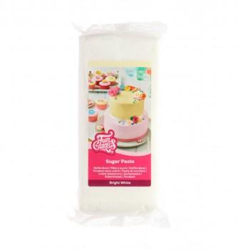 Bright white FunCakes Sugarpaste 1Kg