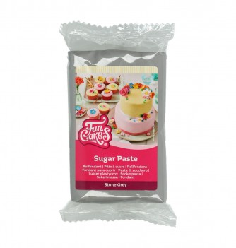Stone Gray FunCakes Sugarpaste