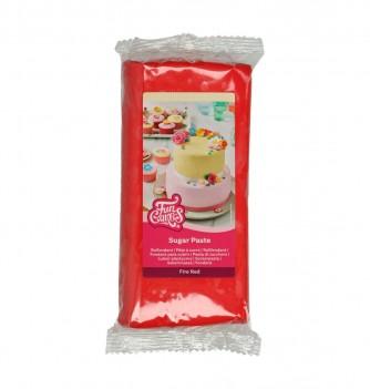 Fire Red FunCakes Sugarpaste 1Kg