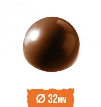 Moule Bonbon Chocolat Demi Sphère diam 32mm