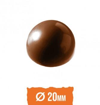 Chocolate mold half sphere (36pcs) 2x4g