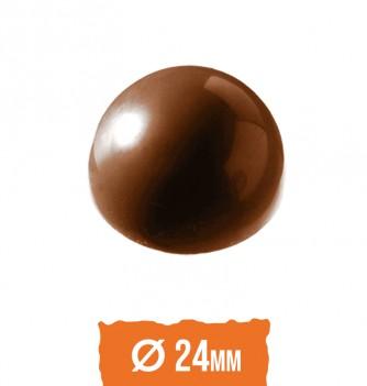 Chocolate mold half sphere (24pcs) 2x6g