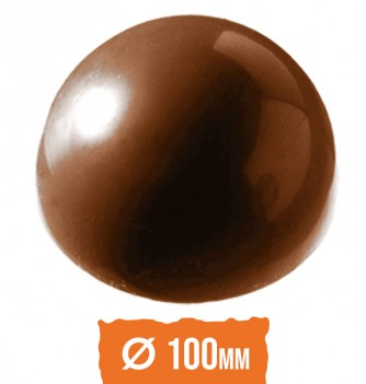 Chocolate Mold - Half sphere diam.100mm