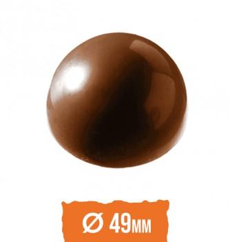 Moule Bonbon Chocolat Demi Sphère diam 49mm