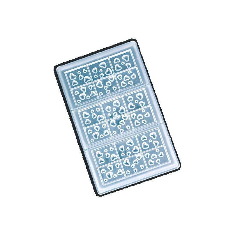 Moule Madeleine Silicone 9pcs Décoflex