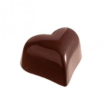 Moule Bonbon Chocolat Coeur Large Bombé