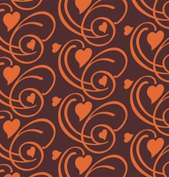20 chocolate transfer sheets - hearts