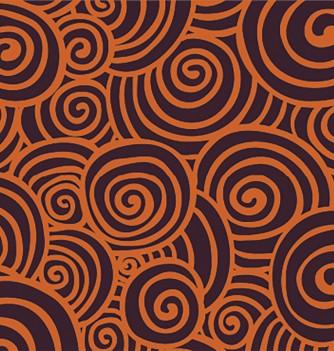Feuille Impression Chocolat Spirale