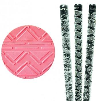 Relief Rolling Pin - Zig Zag - Diam 30mm