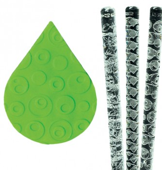 cercles relief pastry rolling pin