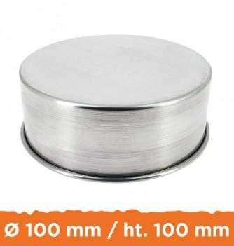 Moule aluminium à Weeding Cake ø100 x h.100 mm