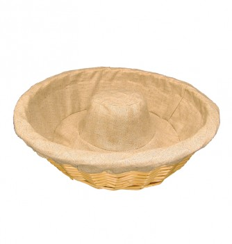 Basket ring with canvas 340x90mm