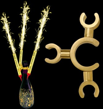 Clip for table fireworks, 6pcs 90mm