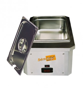 Set of chocolate dipping machine with recipient & lid 12 kg