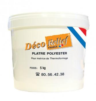 5 kg polyester plaster