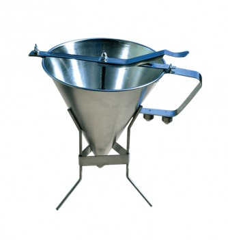automatic confectionery funnel & base