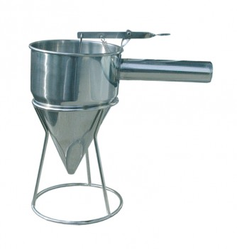 funnel for heavy products & base