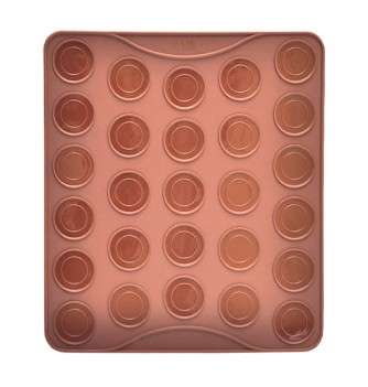 Silicone Mat -Special macarons x27 -290x260mm- Diam. 40mm